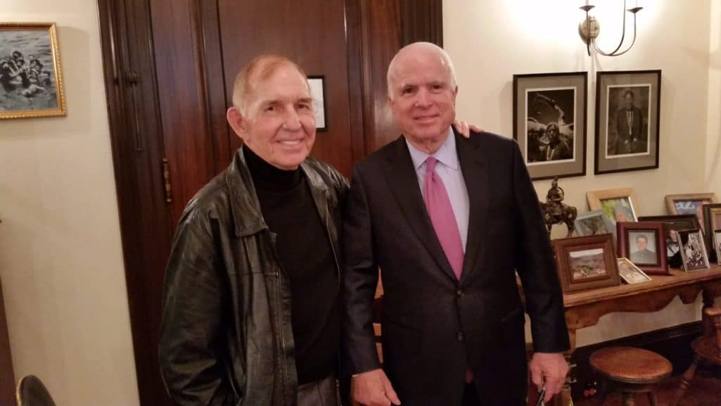 Coffee with Senator McCain